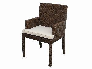 Block Island Rattan Arm Chair