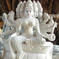 Stone Durga Mata Statue