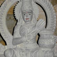 Stone Annapurna Mata Statue