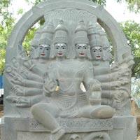 Stone Shakumbhri Mata Statue