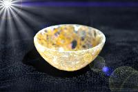 Golden Agate Bowl