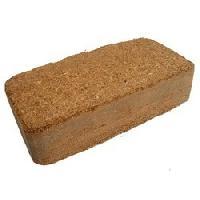 Compressed Coco Peat Briquettes