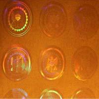 Transparent Holograms