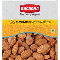 Almond Roasted, Almonds Salted