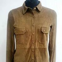 Ladies Leather Shirts