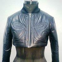 Ladies Leather Short Jacket