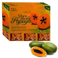 Herbal Papaya Skin Whitener Soap
