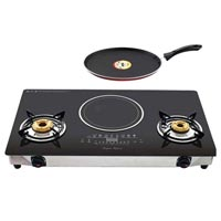 Induction Cooker With Gas Stove