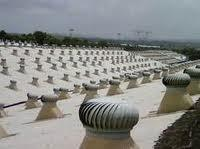 Powerless Turbine Rooftop Ventilator