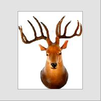 Leather Head Wall Hanger