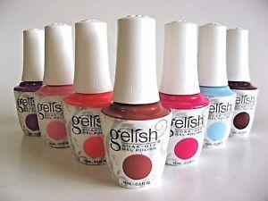 Gelish Soak Off Gel Nail Paints