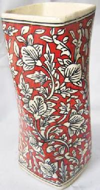 Hand Painted Ceramic Flower Pots