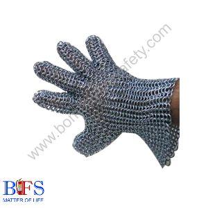Chainex Silver Gloves