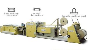 Gear Train Paper Bag Making Machine