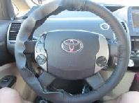 Leather Steering Wheel Cover