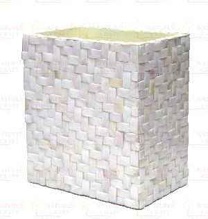 Mother Of Pearl Dustbins