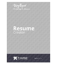 Keybyss® - the Easiest Resume Printing Software