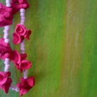 Artificial stone flower Garland
