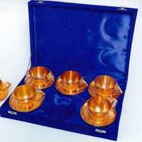 Brass Cup, Brass Saucer
