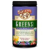 Greens Powder Organic Natural Berry Flavor