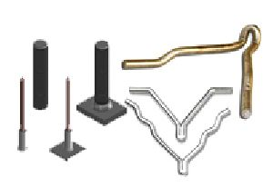 Refractory Anchors, Threaded & Non-threaded Studs, Insulation Pins