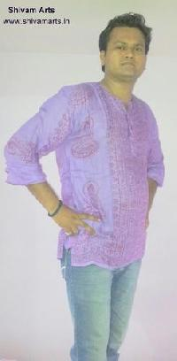 Mens Cotton Viscose Kurta