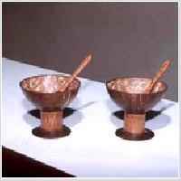 Coconut Shell Ice Cream Cups