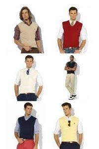 Mens Sleeveless Sweaters
