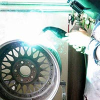 Alloy Wheels Repairing Services