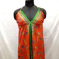 Silk One Piece Dress