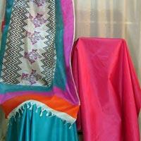 Tussar Silk Dress Material