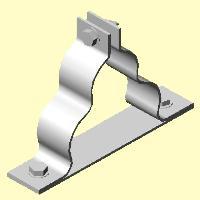 glass fiber filled trefoil clamp