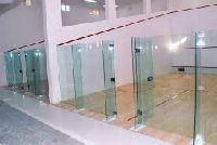 Glass Back Wall