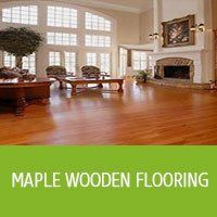Maple Wooden Flooring