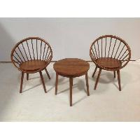 velg chair teak wood