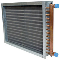 Hot Water Heating Coil