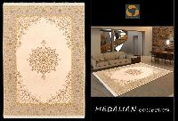 Hand Knotted Rectangular Silk Carpets