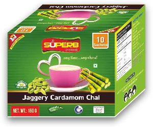 Superb Instant Jaggery Cardamom Tea