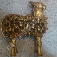 Brass Cow Statues