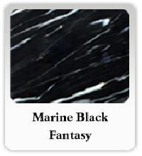 Marine Black Fantasy Marble
