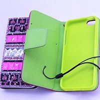 Traditional Style Cover With Card Holder For Iphone 5