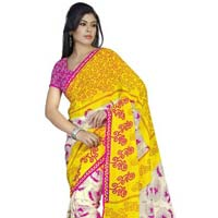 Amiable Printed Casual Wear Faux Georgette Saree 4010a