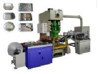 ALUMINUM MEALS BOX MAKING MACHINE