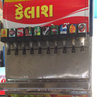 10 Valve Soda Vending Machine