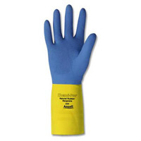 Heavy Duty Natural Rubber Latex Safety Gloves