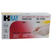 Vinyl Powder Free Examination Gloves