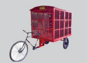 Emergency Trolley Cycle Mounted