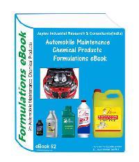 Automobile maintenance chemicals formulations eBook52 with formulation