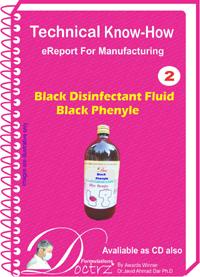 Black Phenyle Disinfactant Fluid General Purpose