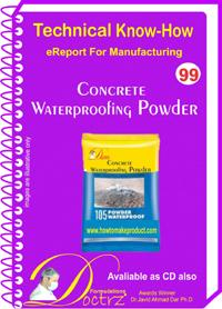 Concrete Waterproofing Powder Technical Knowhow